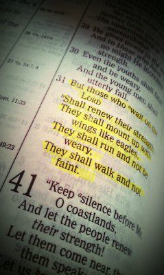Psalms 40:30. Such GOOD things come to those who wait on the Lord. :)