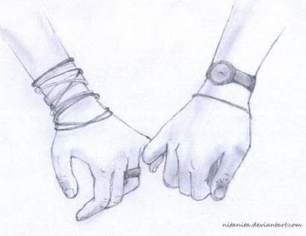 26 Ideas Drawing Cute Couple Holding Hands #drawing