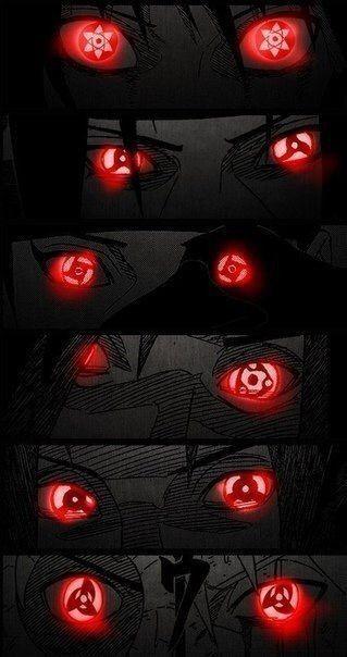 Olhos de um uchiha