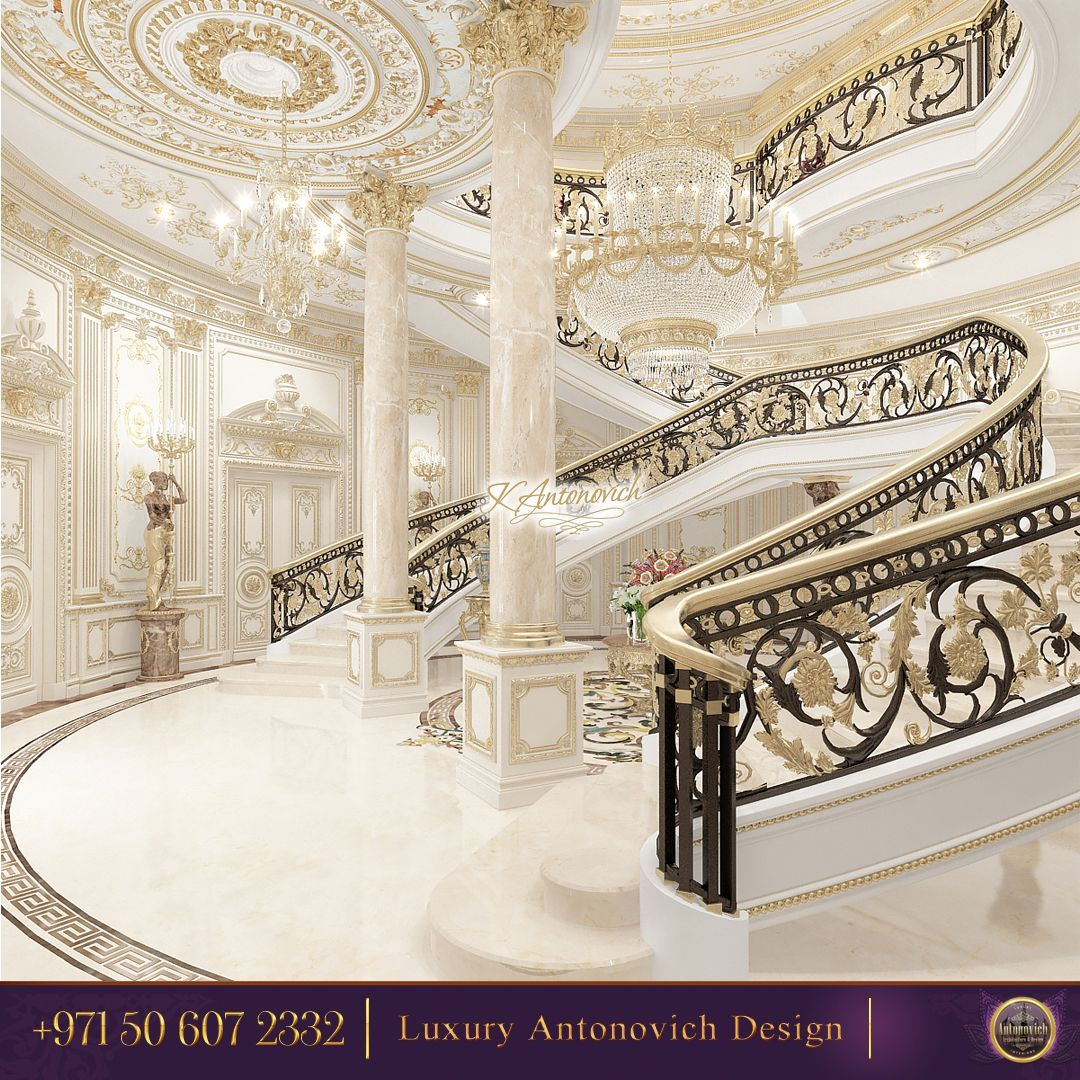Luxury Palace From Luxury Antonovich Design! High Quality