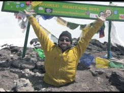 Redefine possible!  Spencer West scales Mount Kilimanjaro despite having no legs to bring clean water to East Africa.