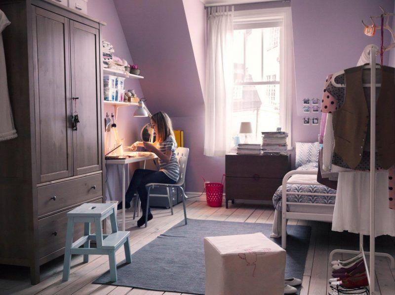 Romantyczny Pokoj Mlodziezowy Dla Dziewczyny Ikea Pomysly Do Domu