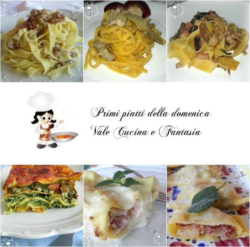 Raccolta di primi piatti per la domenica food for Ricette italiane primi piatti