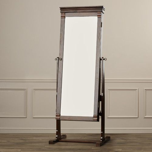Found it at Wayfair Aldridge Cheval Jewelry Armoire with Mirror