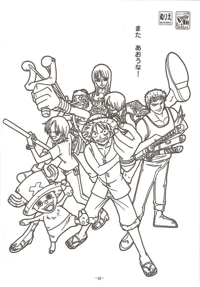 Best One Piece Coloring Pages Printable di 2020 (Dengan