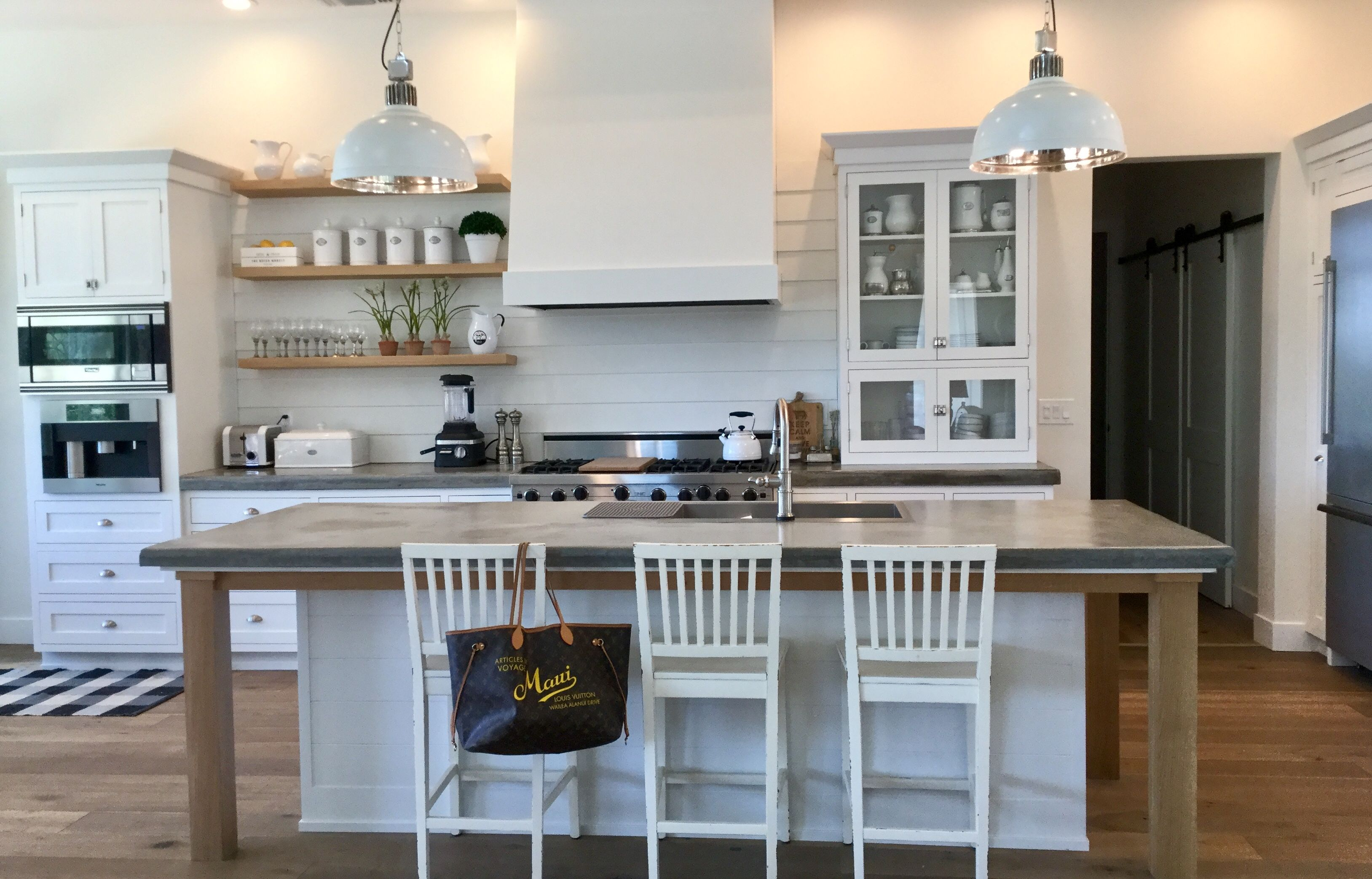 Kitchen with open shelves. | Kitchens~Heart of the Home | Pinterest