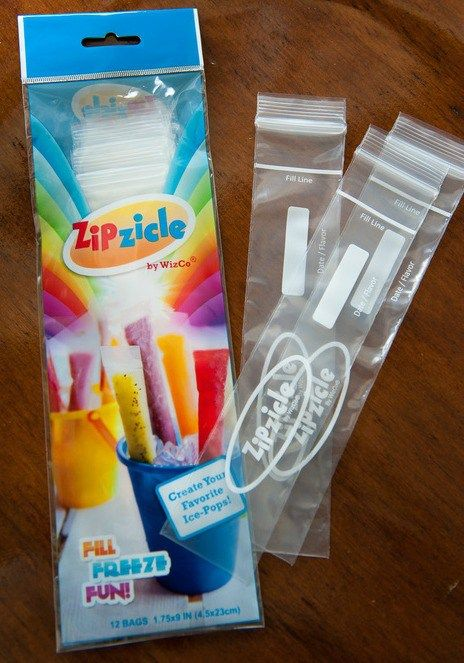 Portable Popsicle wrappers by Zipzicles- neeeed these for summer!!!