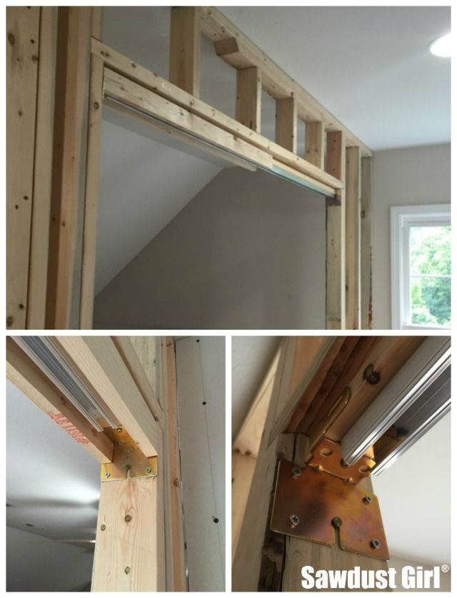 How to install a pocket door frame | Pocket door frame, Pocket doors ...