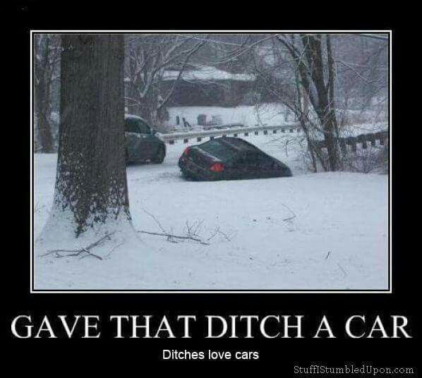 Ditches live cars