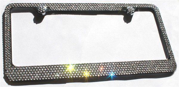 Ultra Bling Crystal License Plate Frame Cool Car Accessories License Plate Frames License