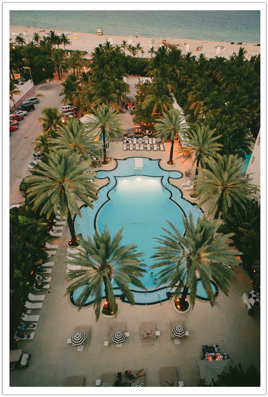 Miami Beachs Raleigh Hotel Was A Perfect Destination Wedding Location Idea Repinned By