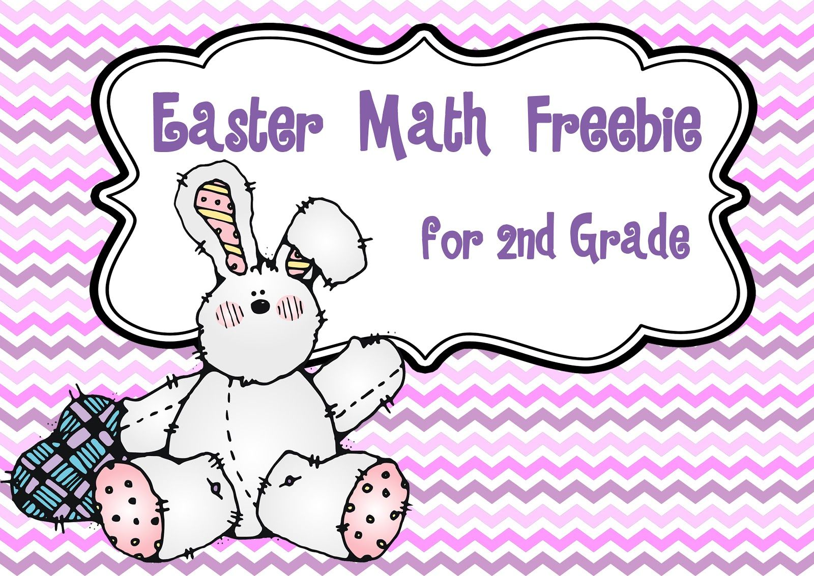 Easter Math Freebie