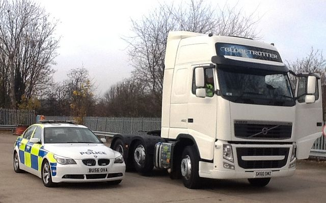 Day 319 West Midlands Police Cmpg Heavy Goods Vehicle With
