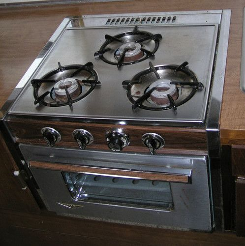 Rv Stove Oven >> Holiday Rv Stove Oven 1968 Stainless Steel Avion Cayo And Other