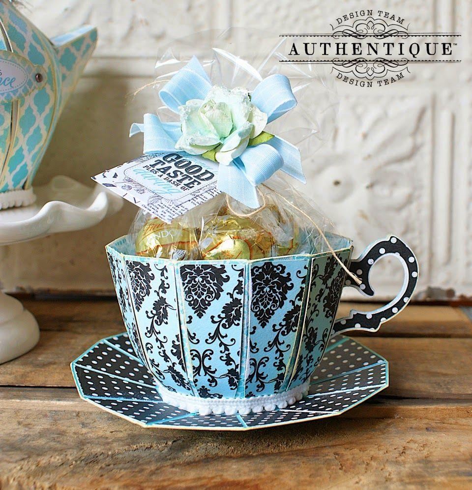 "An ""Elegant"" Tea Party Paper tea cups, Teacup crafts"