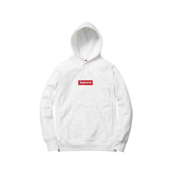 09b5d3a4 Supreme Box Logo Hooded Sweatshirt ($148) ❤ liked on Polyvore featuring  tops, hoodies, logo hoodie, hooded pullover, sweatshirt hoodies, logo  hoodies and ...
