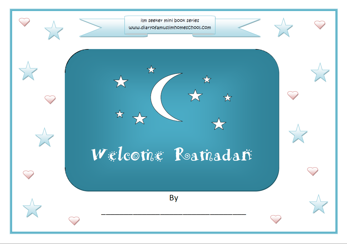 Welcome Ramadan Colouring Work Book