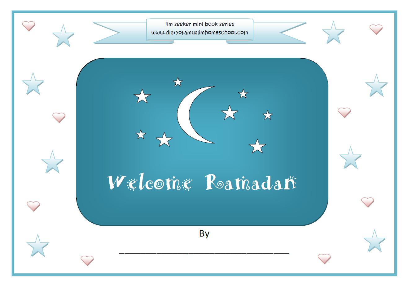 Welcome Ramadan Colouring Work Book