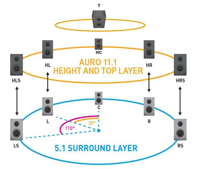 5 1 Home Theater Wiring Diagram Soft And Woody Stem 11 Auro Speaker Setup Myinterest