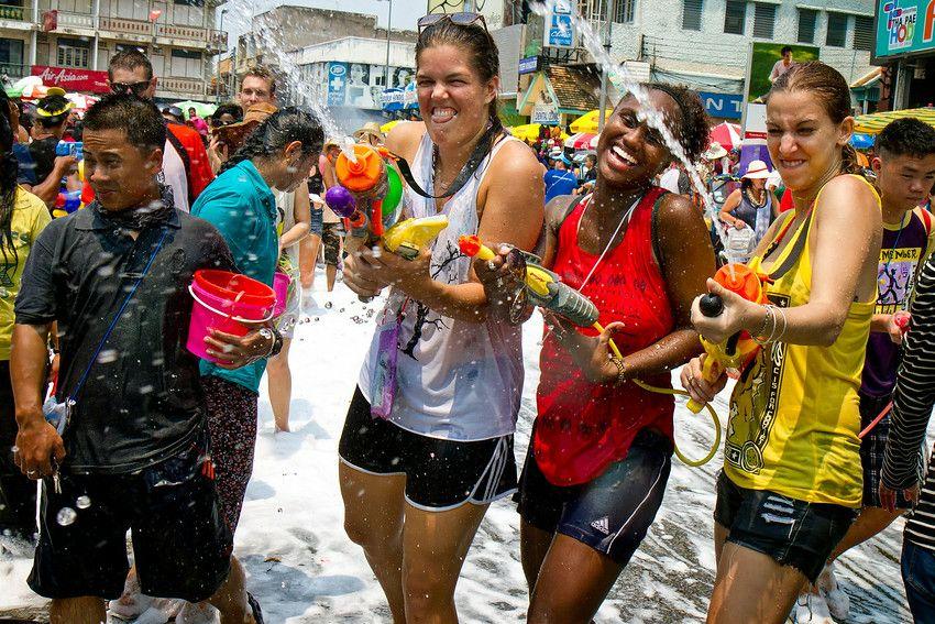 Songkran Festival A Wet & Wild Good Time Songkran