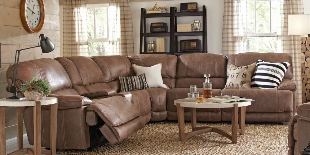 Stetson Ridge Brown 6 Pc Sectional Rooms To Go With Images