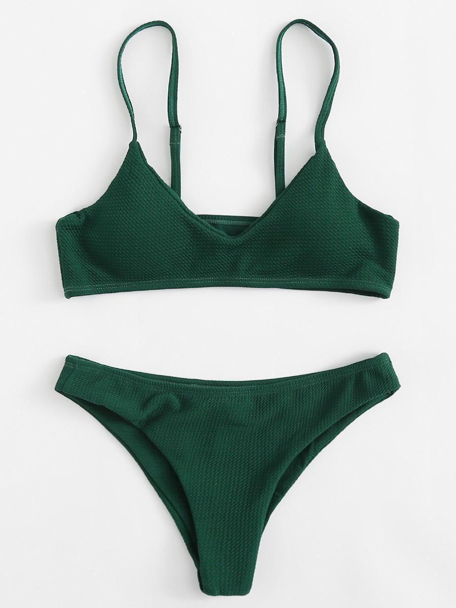 c9f033b176 Adjustable Straps Bikini Set -SheIn(Sheinside)   get in my closet ...