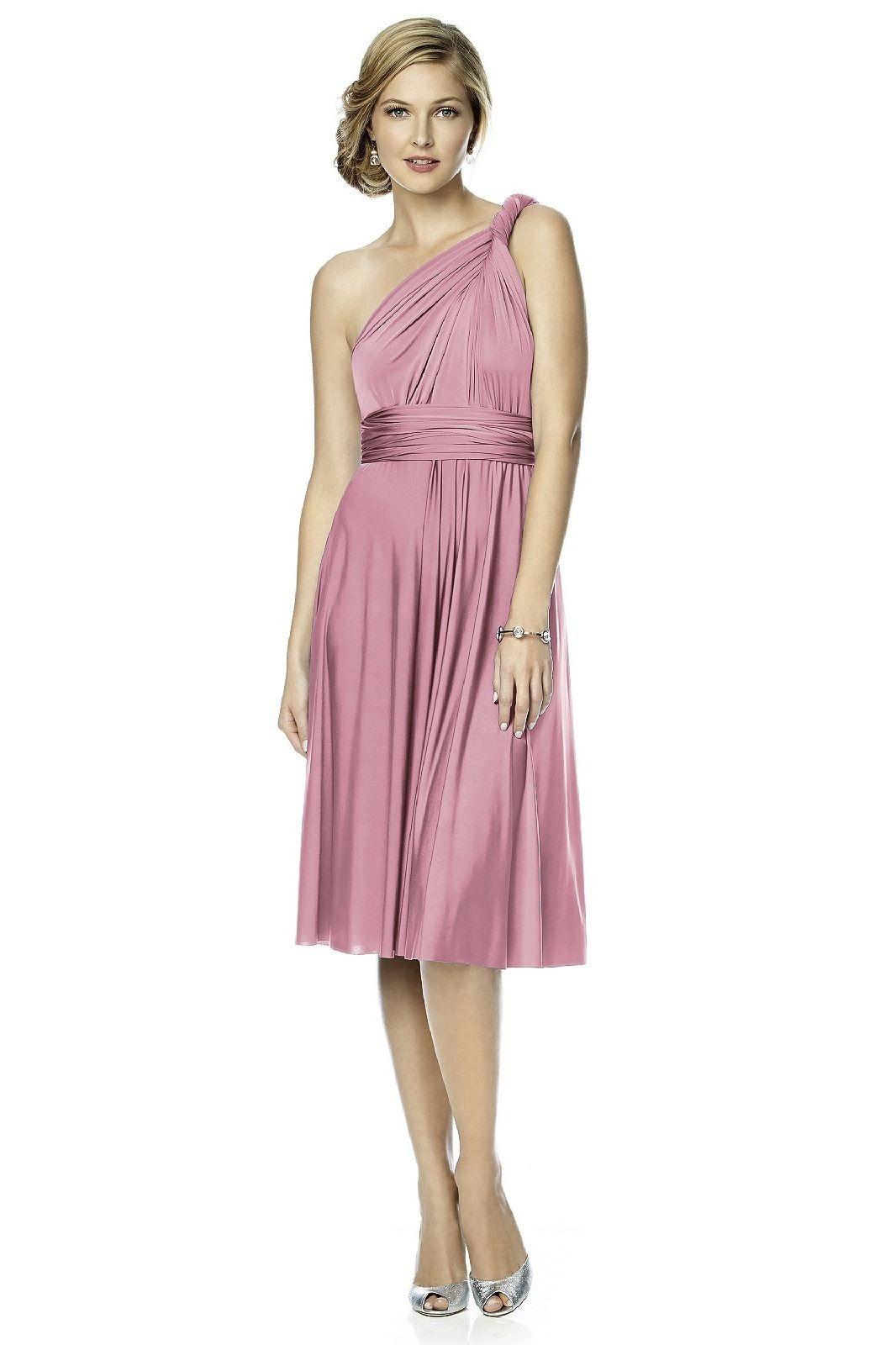 cf346f011bba0 Dessy Twist Wrap Dress Short | Perfect Bridal | Dessy Bridesmaid ...