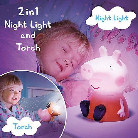 Peppa Pig Goglow Buddy Night Light And Torch Debenhams Baby