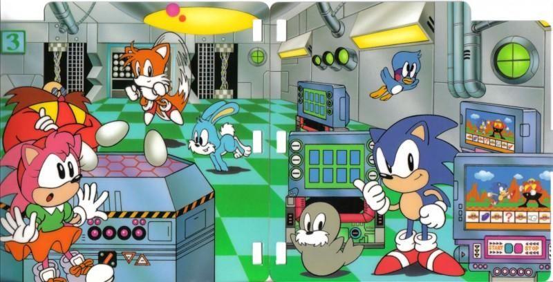Sonic The Hedgehog S Game World Sega Pico Official Artwork Sonic Hedgehog Game Sonic The Hedgehog
