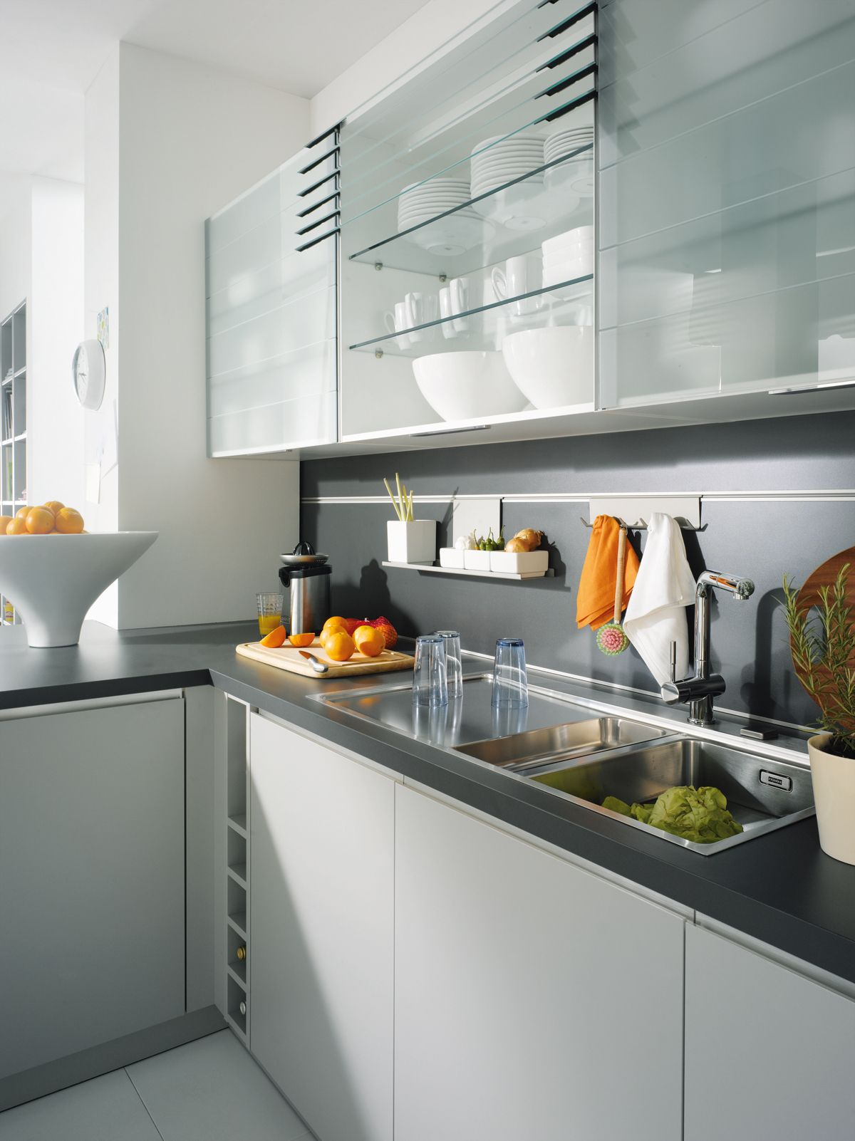 Make a Schüller kitchen your own by adding small extras