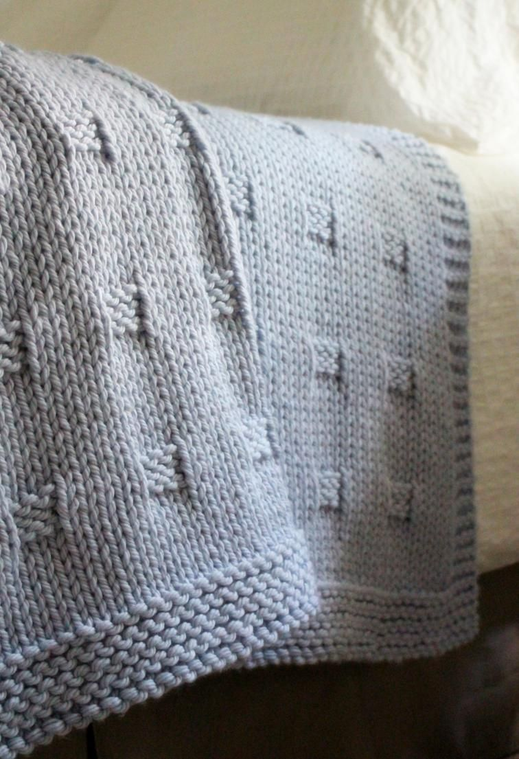 Graph Paper   Craftsy   Blanket knitting patterns, Baby ...