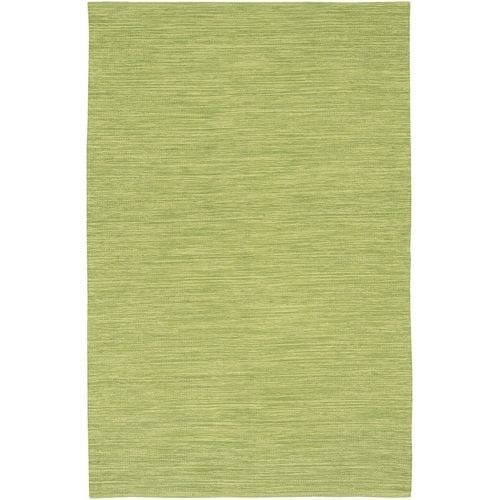 Chandra Rugs India 6 Green Cotton Area Rug Hand Woven In 3 1