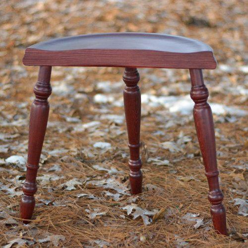 Spinning Stool, Kromski Spinning Wheel Stool, Three Legged Stool, Wooden  Stool, Spin Chair, Spinning Seat