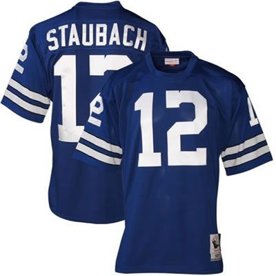competitive price 311ff 98505 Roger Staubach Team Color (Blue) Jersey $19.99 This jersey ...