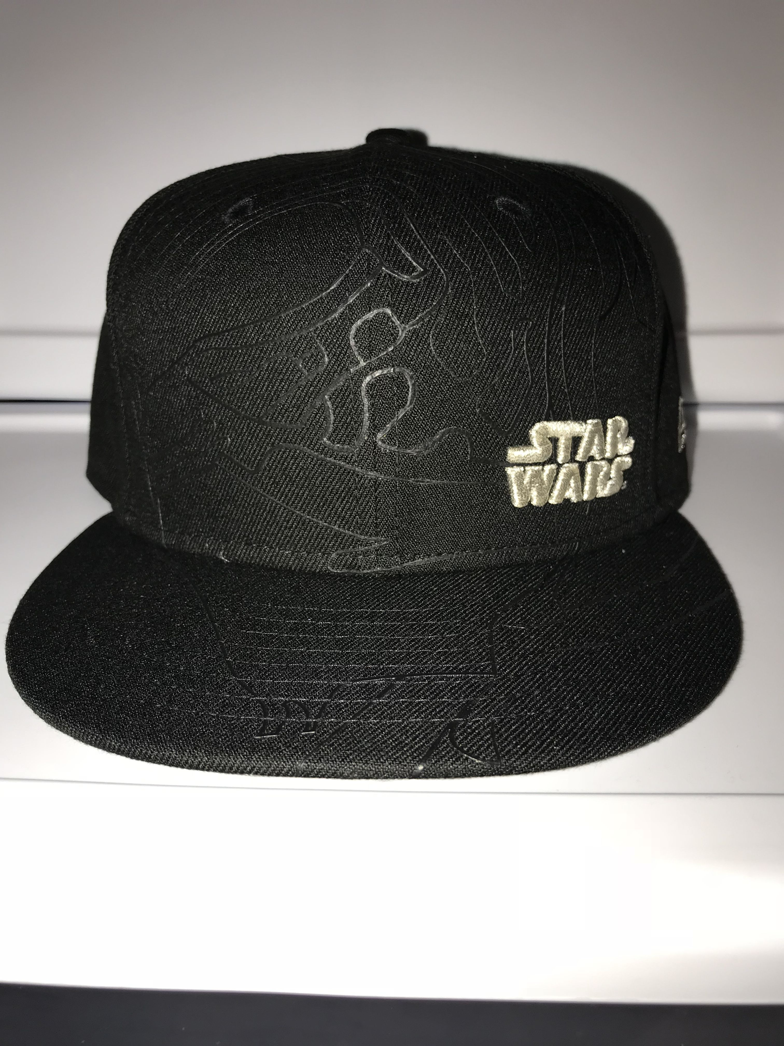 afa31ca23e68a New Era Star Wars the last Jedi Kylo ren profile outline 9FIFTY snapback