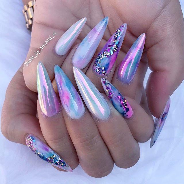 Pin de Nikesha en Nails | Pinterest | Diseños de uñas, Manicuras y ...