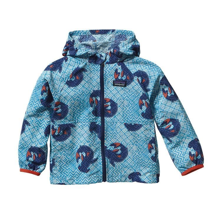 40b3b11f Patagonia Baby Baggies Jacket - Hammerhead Spin: Skipper Blue HMSB ...