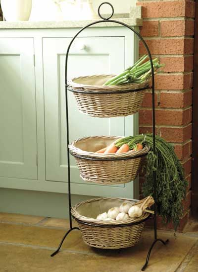 Stylish Fruit Storage Kitchen