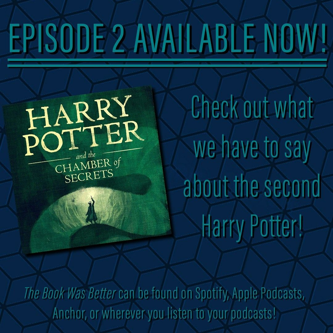 Episode 2 Is Out Now Podcasts Harry Potter Popular Books