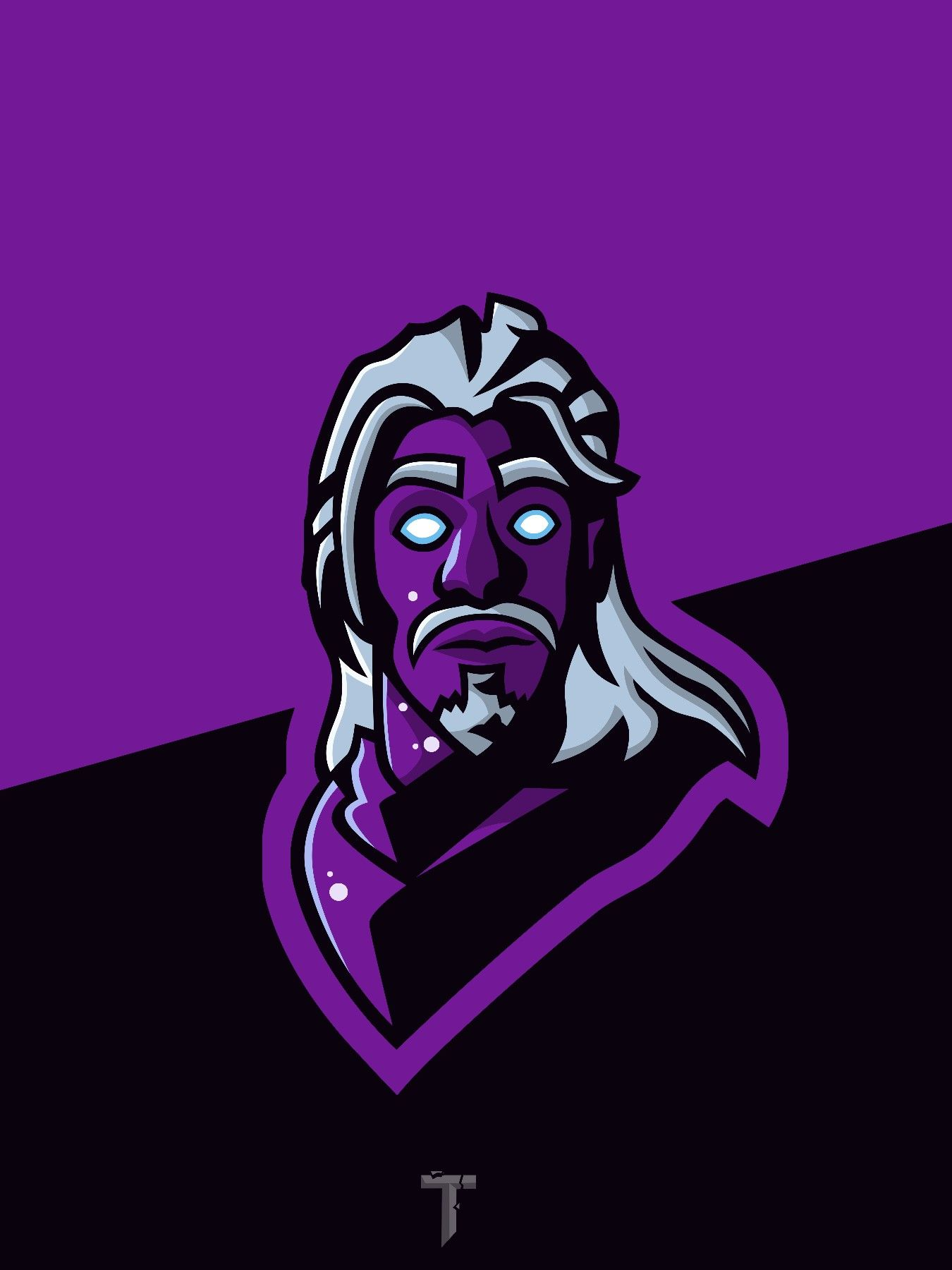 Galaxy Skin Mascot Logo Fortnite Background Wallpaper Png Papeis