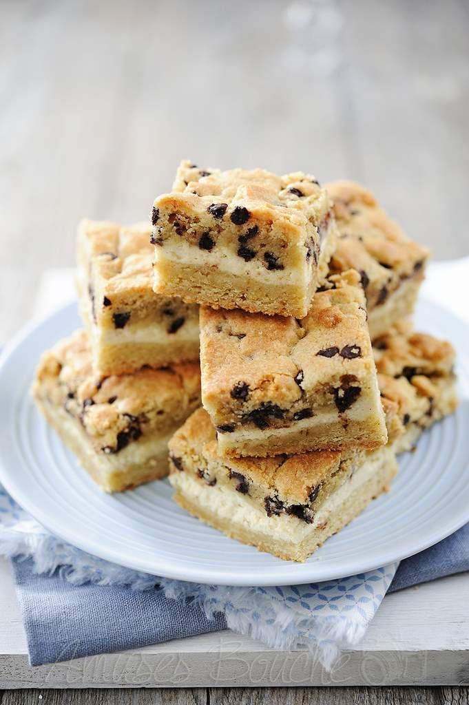 Carrés de cookies-cheesecake
