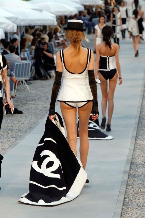 Chanel Swim | Chanel cruise, Chanel beach, Glamorous chic life