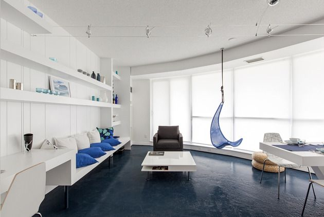 Blue Pie Condo by Reza Aliabadi Inspired by Arctic Iceberg Photo
