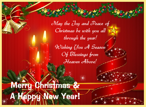 Christmas greeting cards christmas greeting cards pinterest wish everyone this season a merry christmas and a happy new year free online merry christmas and seasons blessings ecards on christmas m4hsunfo