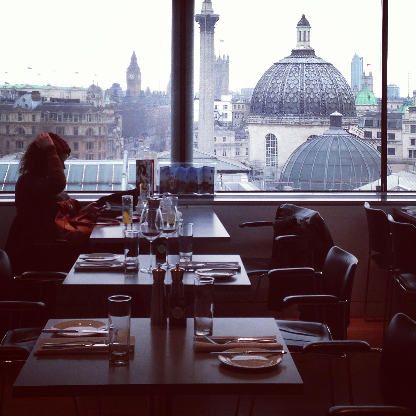 Portrait Restaurant London Top Floor Of National