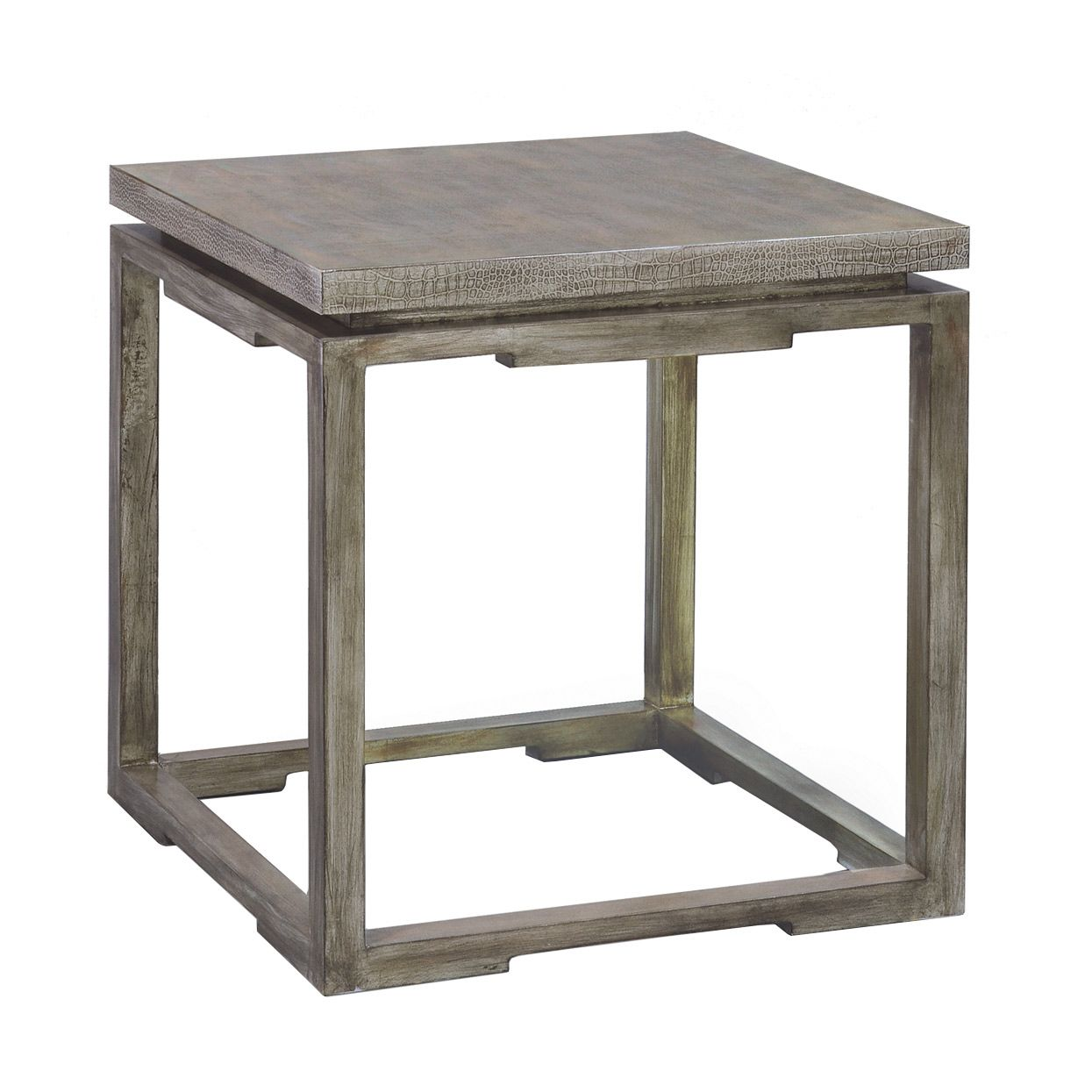 contemporary rustic modern furniture outdoor. The Palecek Regis Side Table Provides A Touch Of Rustic Glam. On An Antique-. Contemporary TablesModern Modern Furniture Outdoor