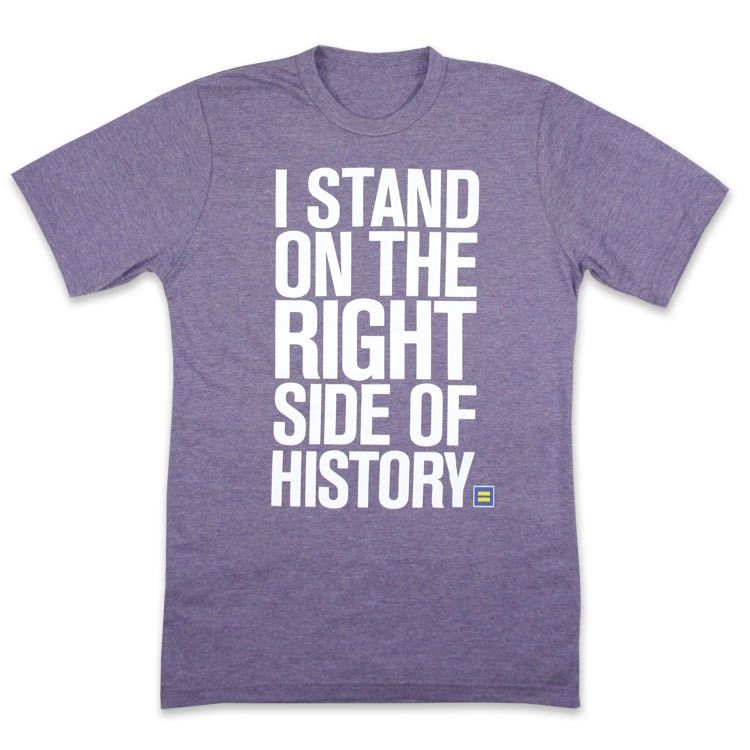 HRC T-shirt human rights campaign support equal rights