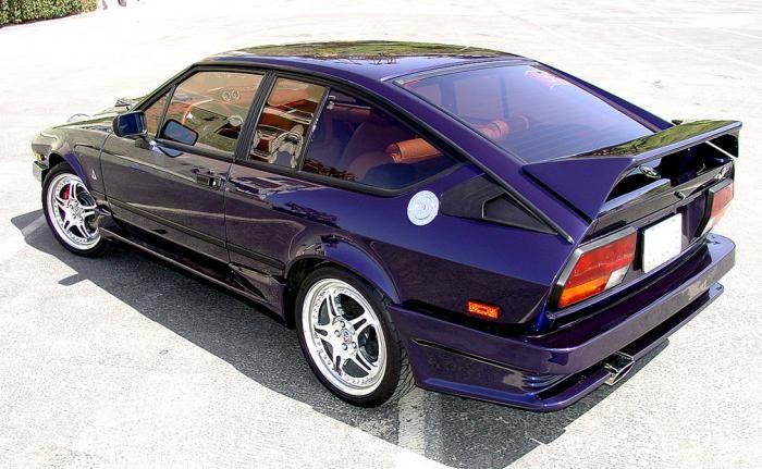1986 Alfa Romeo Callaway GTV6 Twin Turbo