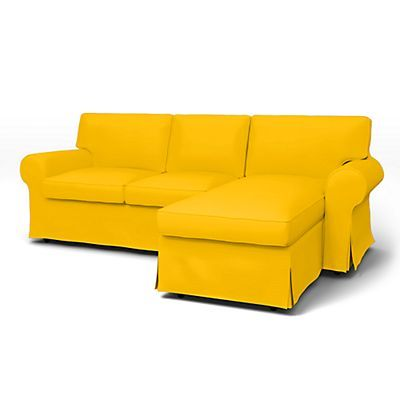 ektorp 2 seater sofa with chaise longue cover sofa covers ektorp rh pinterest com Convertible Sofa Bed Sofa Beds for Small Spaces