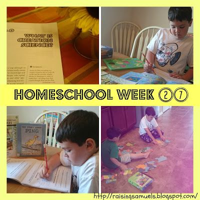 Homeschool Week 27 Ever wonder what happens in a homeschooler's week? Come stop by to share our week Featured on #OMHGWW